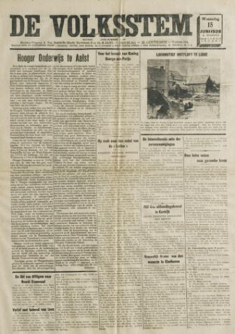 De Volksstem 1938-06-15