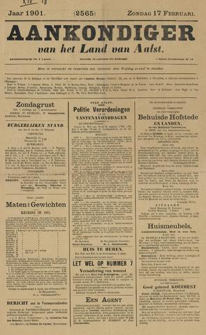 Aankondiger 1901