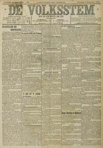 De Volksstem 1910-09-17
