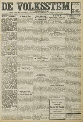 De Volksstem 1930-12-04