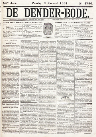 De Denderbode 1881