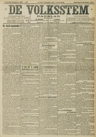 De Volksstem 1910-11-15