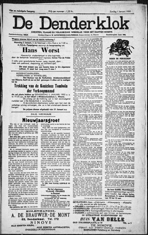 Denderklok 1950