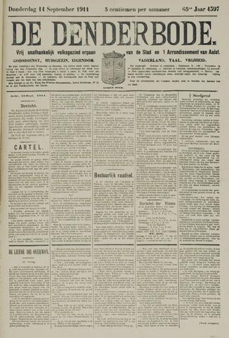 De Denderbode 1911-09-14