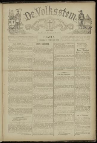 De Volksstem 1895-02-22