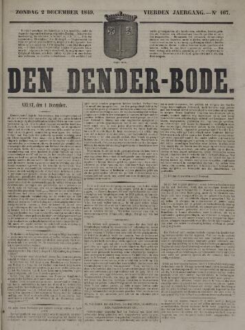 De Denderbode 1849-12-02