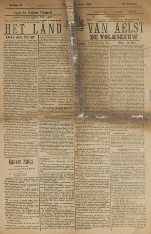Het Land van Aelst 1908-11-01