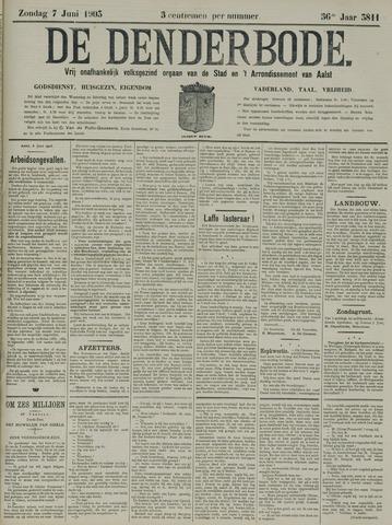 De Denderbode 1903-06-07