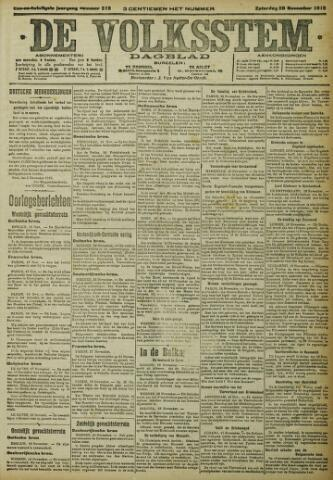 De Volksstem 1915-11-20