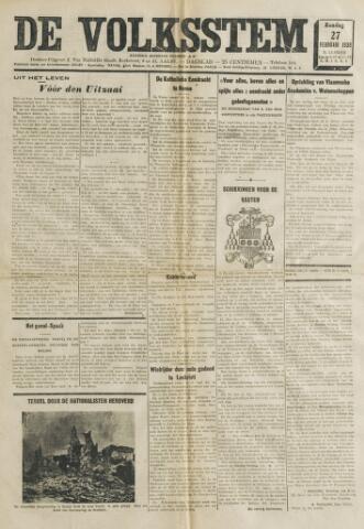 De Volksstem 1938-02-27