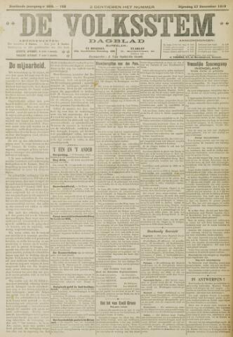 De Volksstem 1910-12-27