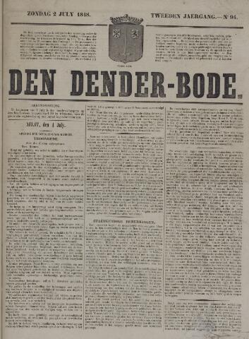 De Denderbode 1848-07-02