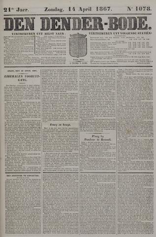De Denderbode 1867-04-14