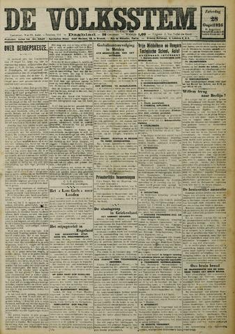De Volksstem 1926-08-28