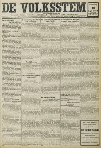 De Volksstem 1930-09-18