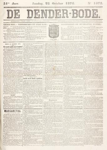 De Denderbode 1876-10-22
