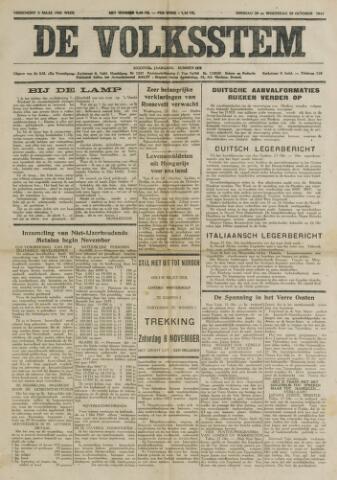 De Volksstem 1941-10-28