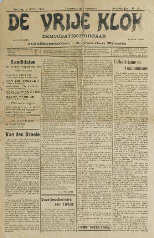 De Vrije Klok 1912
