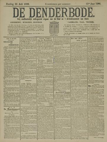 De Denderbode 1898-07-24