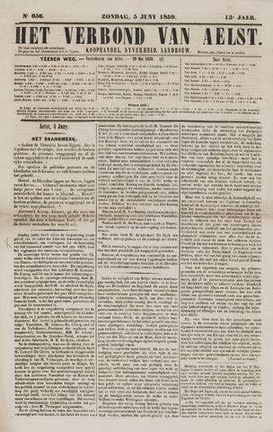 Het Verbond van Aelst 1859-06-05