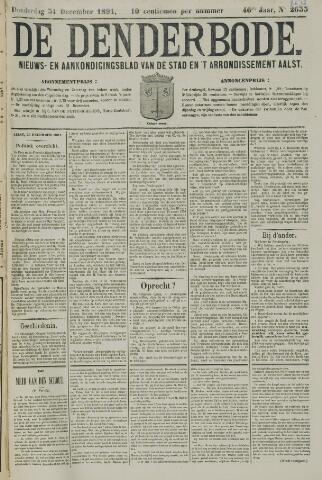 De Denderbode 1891-12-31