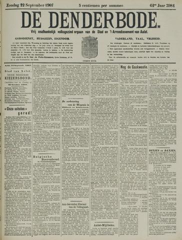 De Denderbode 1907-09-22