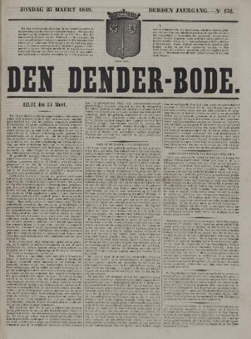 De Denderbode 1849-03-25