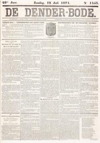 De Denderbode 1874-07-12