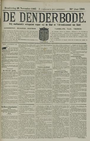 De Denderbode 1903-11-26