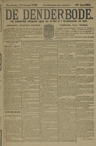 De Denderbode 1898-02-03