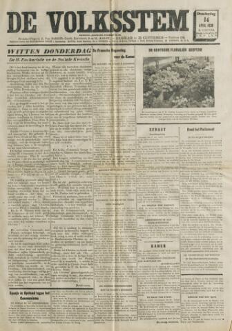 De Volksstem 1938-04-14