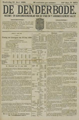 De Denderbode 1890-06-12