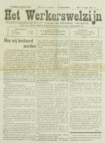 Werkerswelzijn 1921