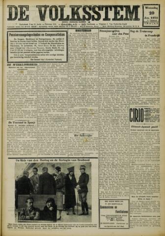 De Volksstem 1932-01-20