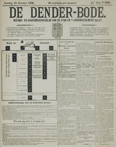 De Denderbode 1890-10-19