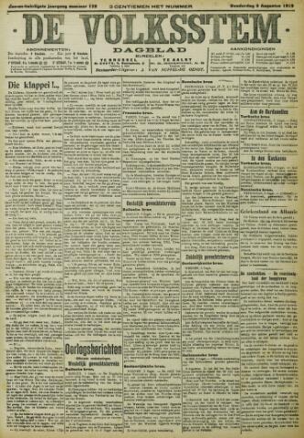 De Volksstem 1915-08-05