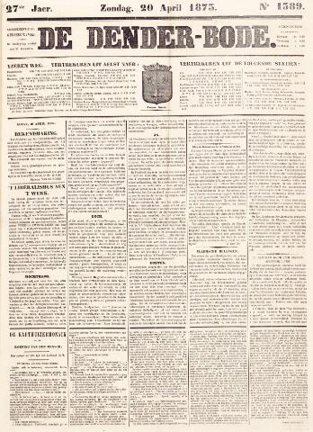 De Denderbode 1873-04-20