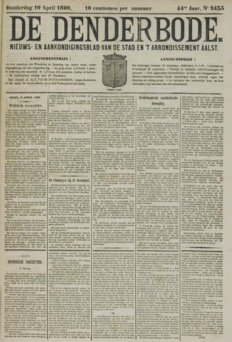 De Denderbode 1890-04-10