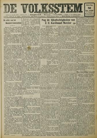 De Volksstem 1926-01-30