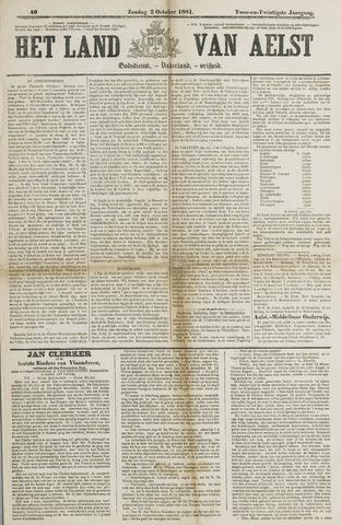 Het Land van Aelst 1881-10-02
