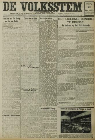 De Volksstem 1932-06-21