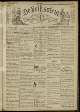 De Volksstem 1907-02-16