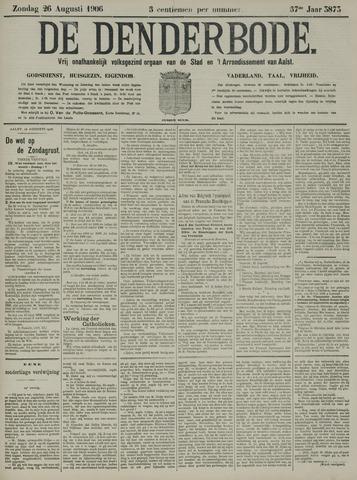 De Denderbode 1906-08-26