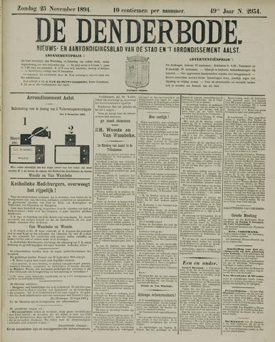 De Denderbode 1894-11-25
