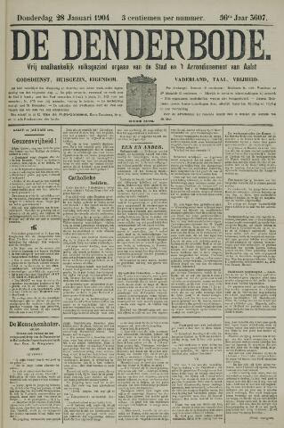 De Denderbode 1904-01-28