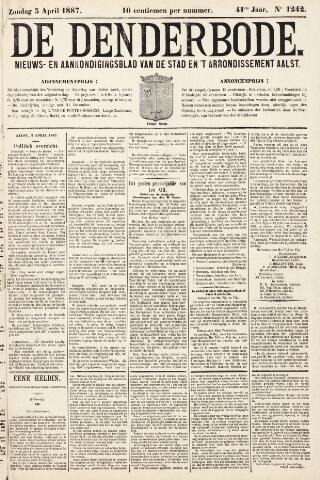 De Denderbode 1887-04-03