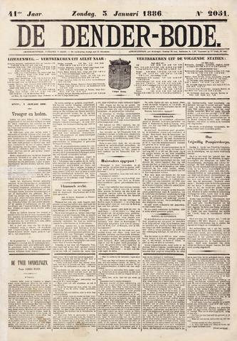De Denderbode 1886-01-03