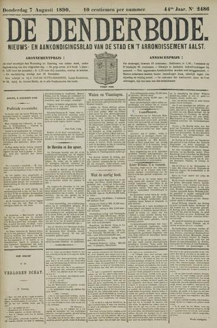 De Denderbode 1890-08-07