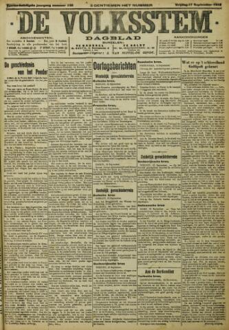 De Volksstem 1915-09-17