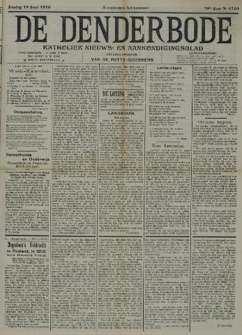De Denderbode 1916-06-18